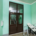 Установка дверей пвх на переходных балконах, ул. хошимина, д.