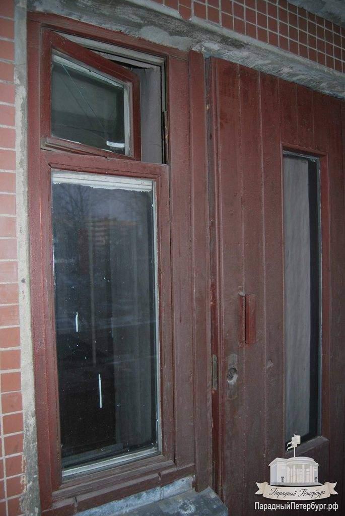 Замена и демонтаж дверей по доступным ценам в спб парадный п.