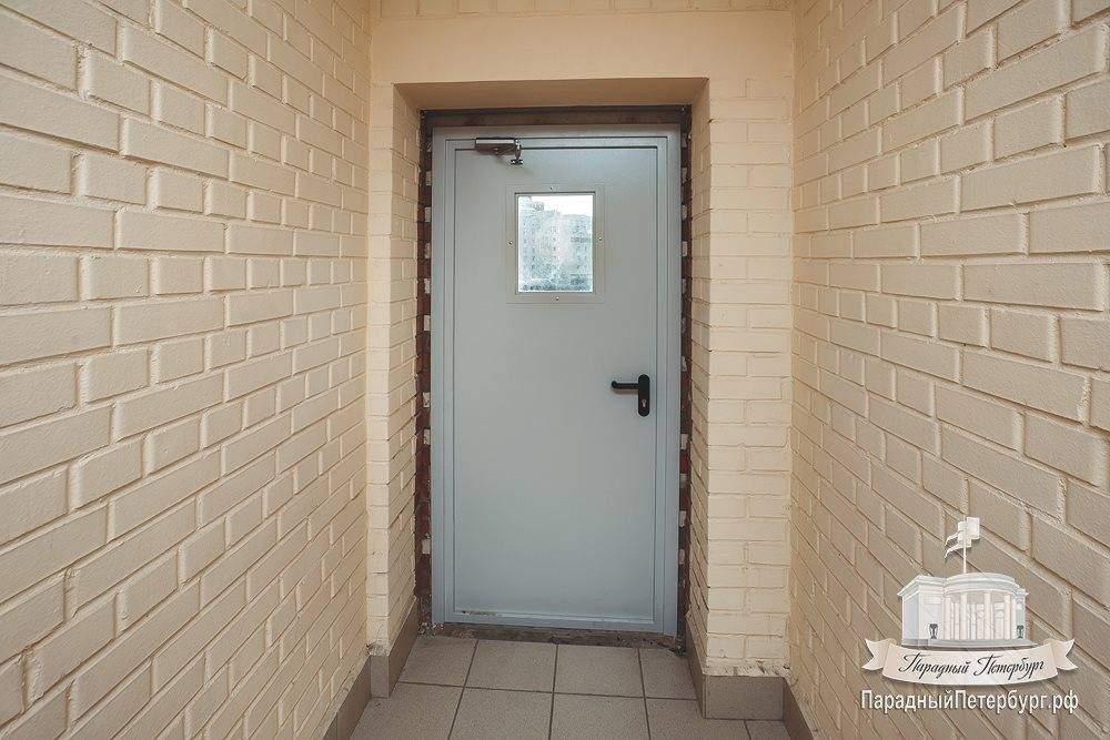 Установка дверей в подъездах многоквартирных домов в спб по .