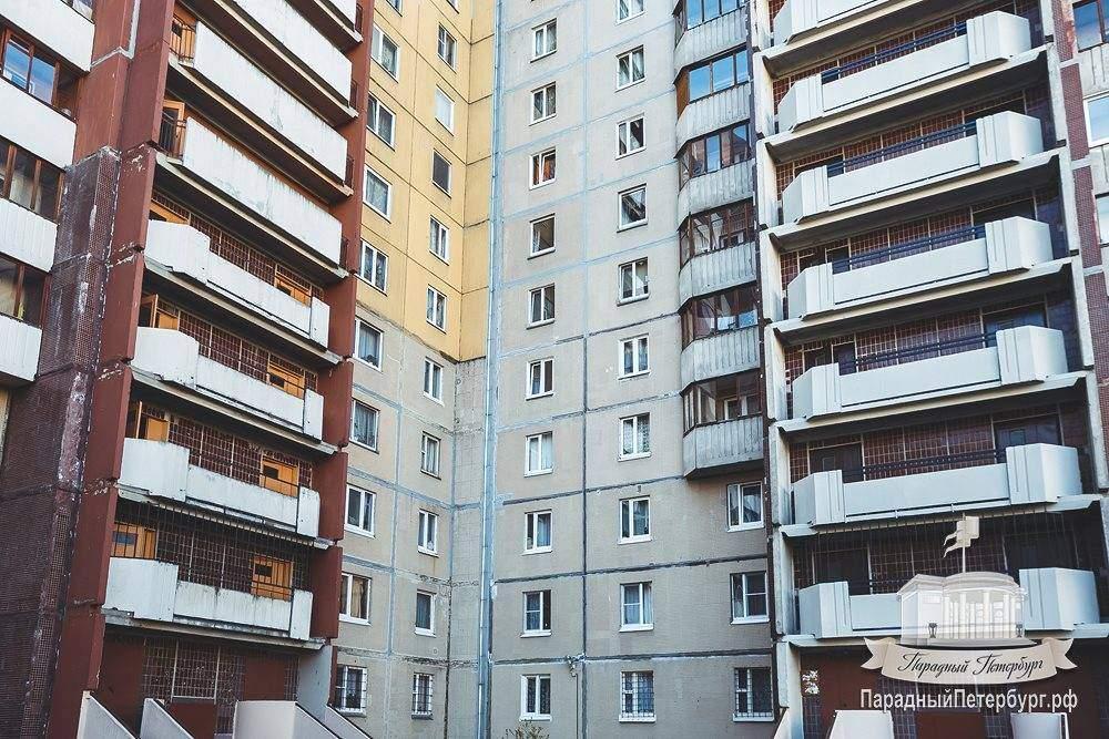 Покраска переходных балконов, ул. туристская, 38, тсж невска.